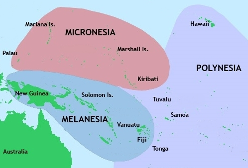 Micro Islands In The South Pacific