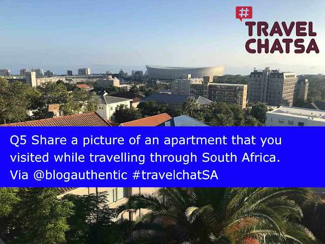 Q4 You rent a holiday apartment. Give ideas on how to better respect the locals as a tourist. #travelchatSA @DoroLef