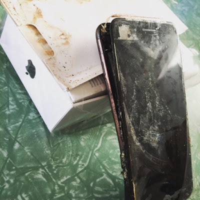 Is Apple iPhone 7 exploding too