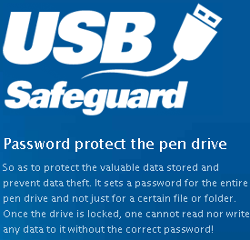 sometimes we have to protect our pendrive with password