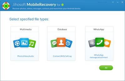 Jihosoft Android Phone Recovery iReparo 8.5.5 free download