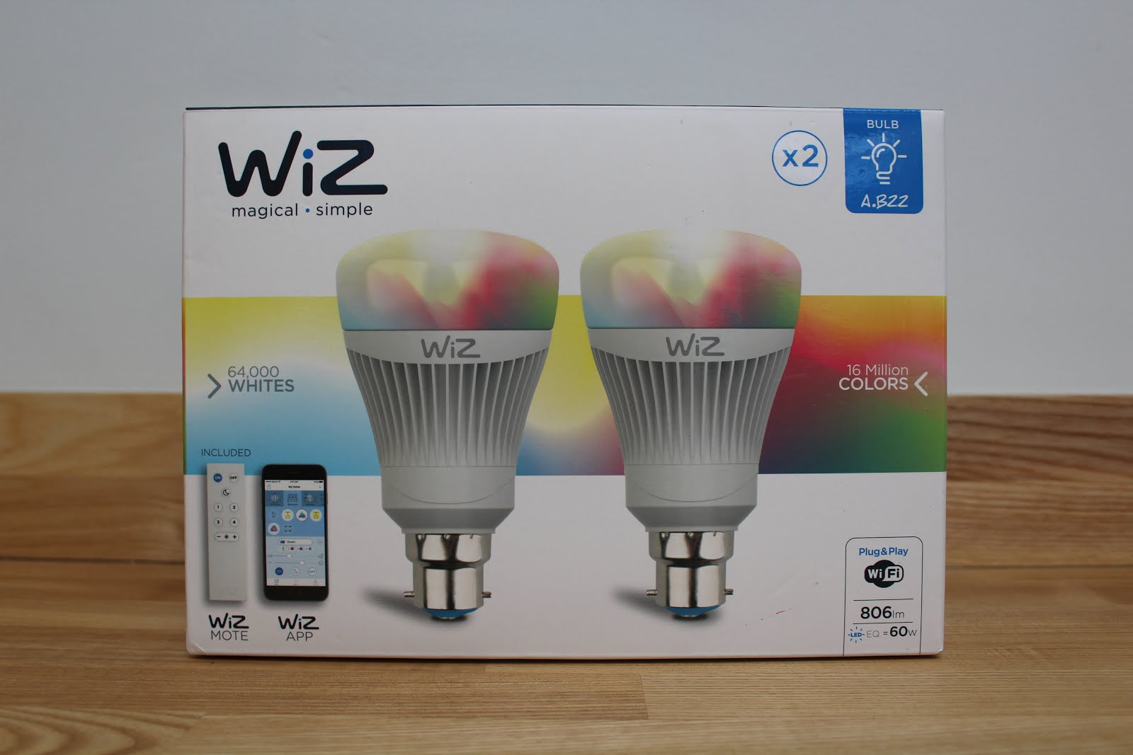 WiZ Smart Lighting Review