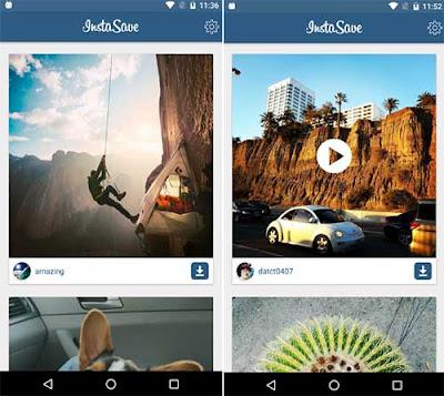 InstaSave untuk mendownload video instagram