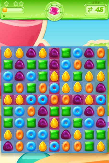Candy Crush Jelly Saga 209