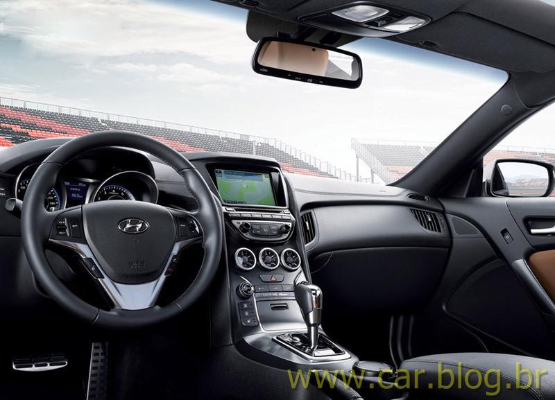 Hyundai Genesis Coupé 2013   Interior