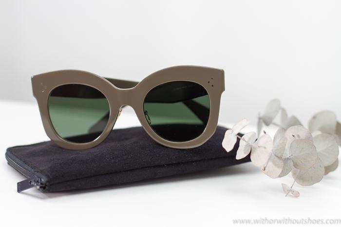 BLogger con las Tendencias Gafas de sol Céline nueva Colección Primavera Verano 2017