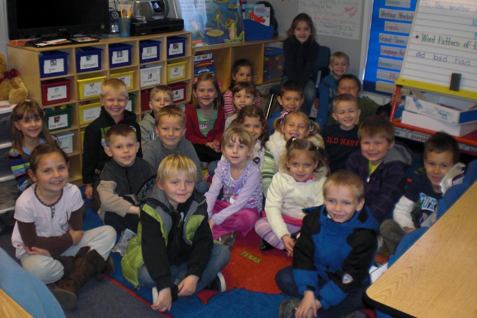 Kindergarten Class: Mrs. Ricketts Kindergarten : ~Our Class~