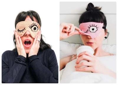 Cómo tejer antifaces para dormir a crochet