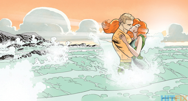 Aquaman #37 by Darwyn Cooke.