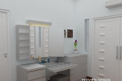 Jasa Design Interior Ruang Ganti Minimalis