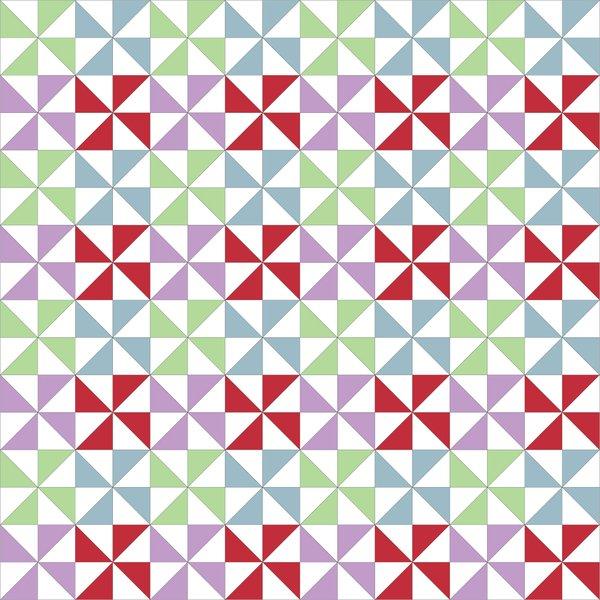 Pinwheels Quilt Block Tutorial