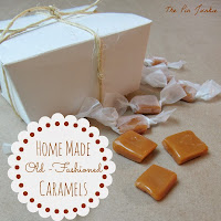 homemade caramels no candy thermometer
