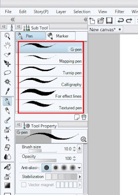 Tutorial Dasar Menggunakan Clip Studio Paint