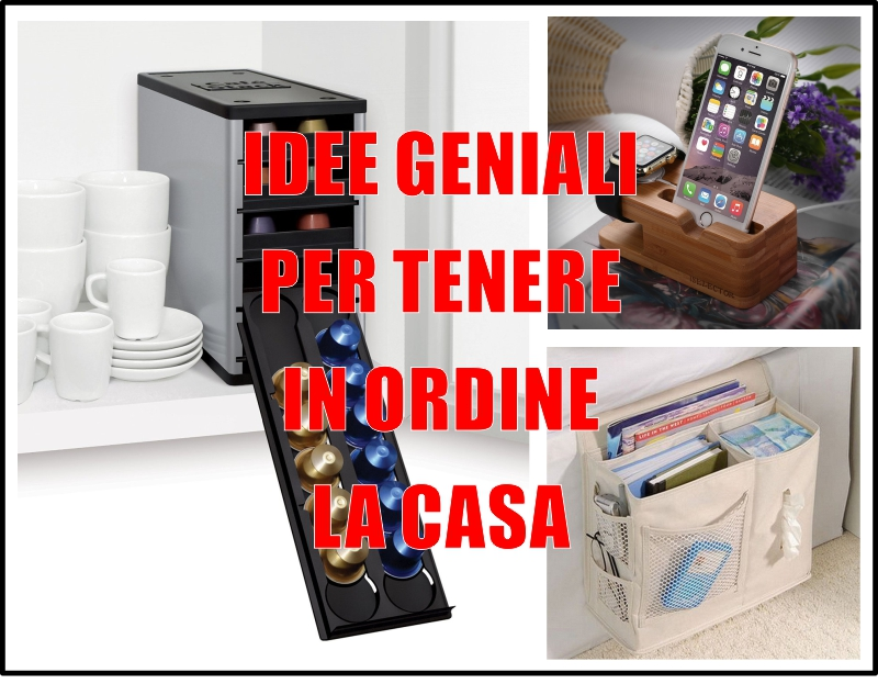 9 idee geniali per tenere in ordine la tua casa su amazon for Idee per la casa