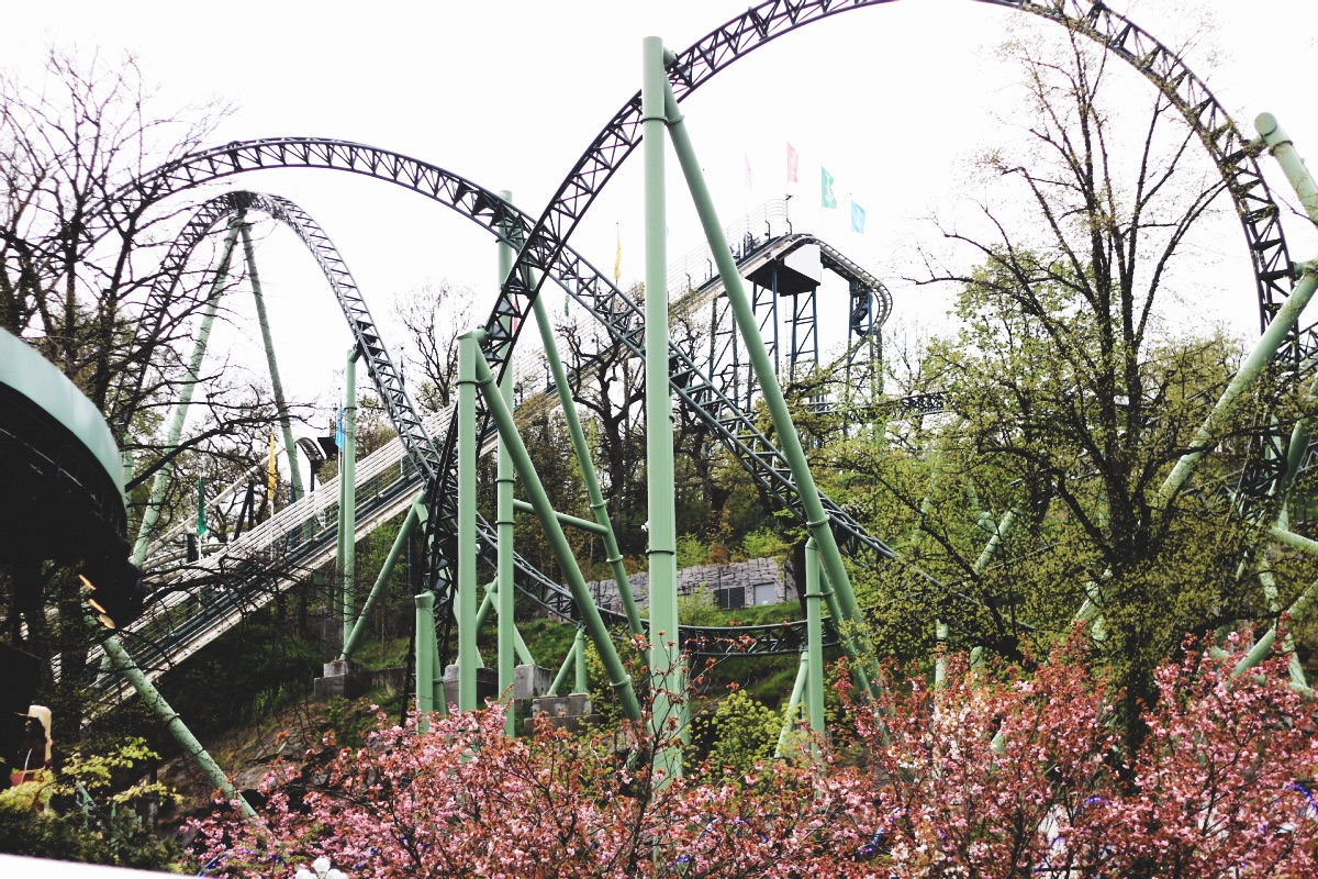 Visiting Liseberg Theme Park Gothenburg with a City Card