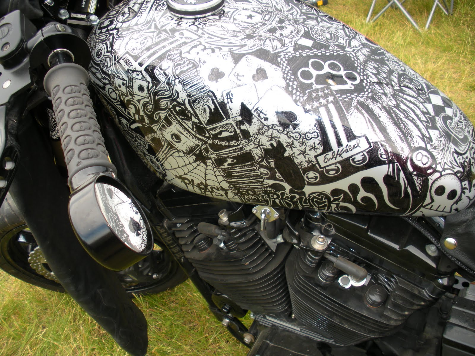 Magoo S Motorsickles Sturgis 2011 Sharpie Gas Tank Awesome