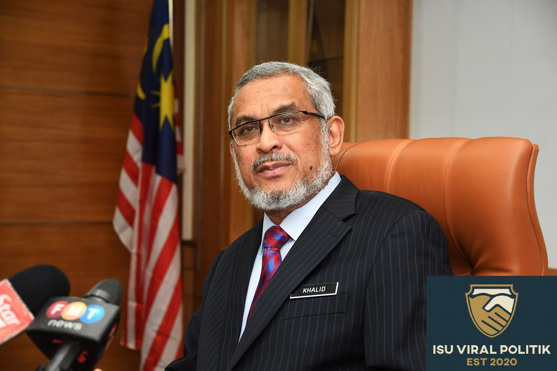 Khalid salahkan polis, kenapa tak kawal program Tabligh