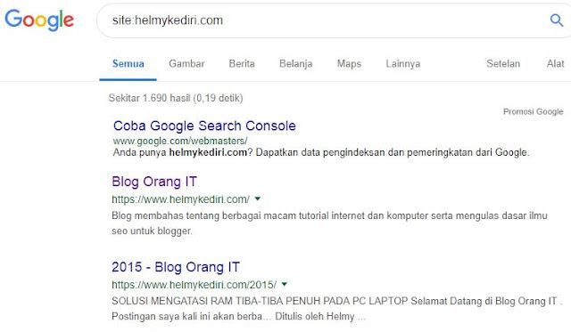97 Langkah Sukses TOP 10 di Search Engine