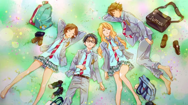 rekomendasi anime school romance terbaik 2017 2018 school slice of life