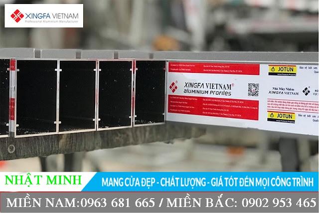 nhôm xingfa Việt Nam