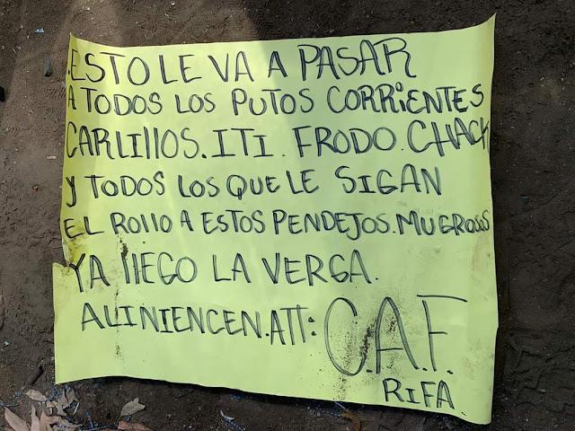 Reaparece El CAF (Cartel de Los Arellano Felix se enfrentan a Estatales en Tijuana hay 3 Sicarios muertos