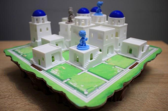 Santorini - urocze wcielenie szachów z greckimi bóstwami. Recenzja gry logicznej