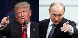 Treasonous Trump and Pernicious Putin - It's clear what Trump and Putin are trying to accomplish: World domination!
