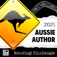 Aussie Author Reading Challenge 2021 logo