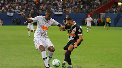 Vasco 1 x 1 Corinthians - Campeonato Brasileiro 2019 rodada 3