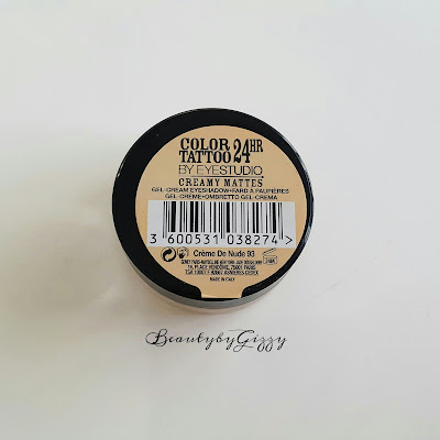 MAYBELLINE COLOR TATTOO CREME DE NUDE 93
