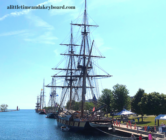Tall Ships docked in Kenosha.