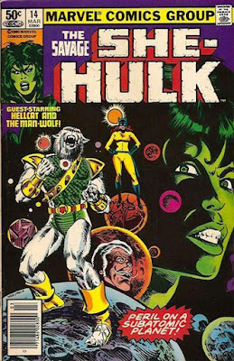 Savage She-Hulk #14, Man-Wolf and Hellcat