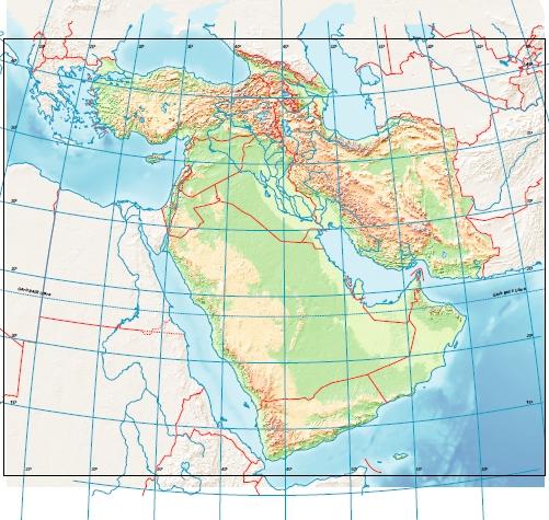 Peta Buta Asia Barat