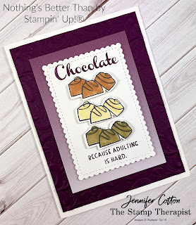 Nothing's Better Than Bundle by Stampin' Up! plus the Oh So Ombre Sale a Bration designer paper.  #StampTherapist #Stampinup