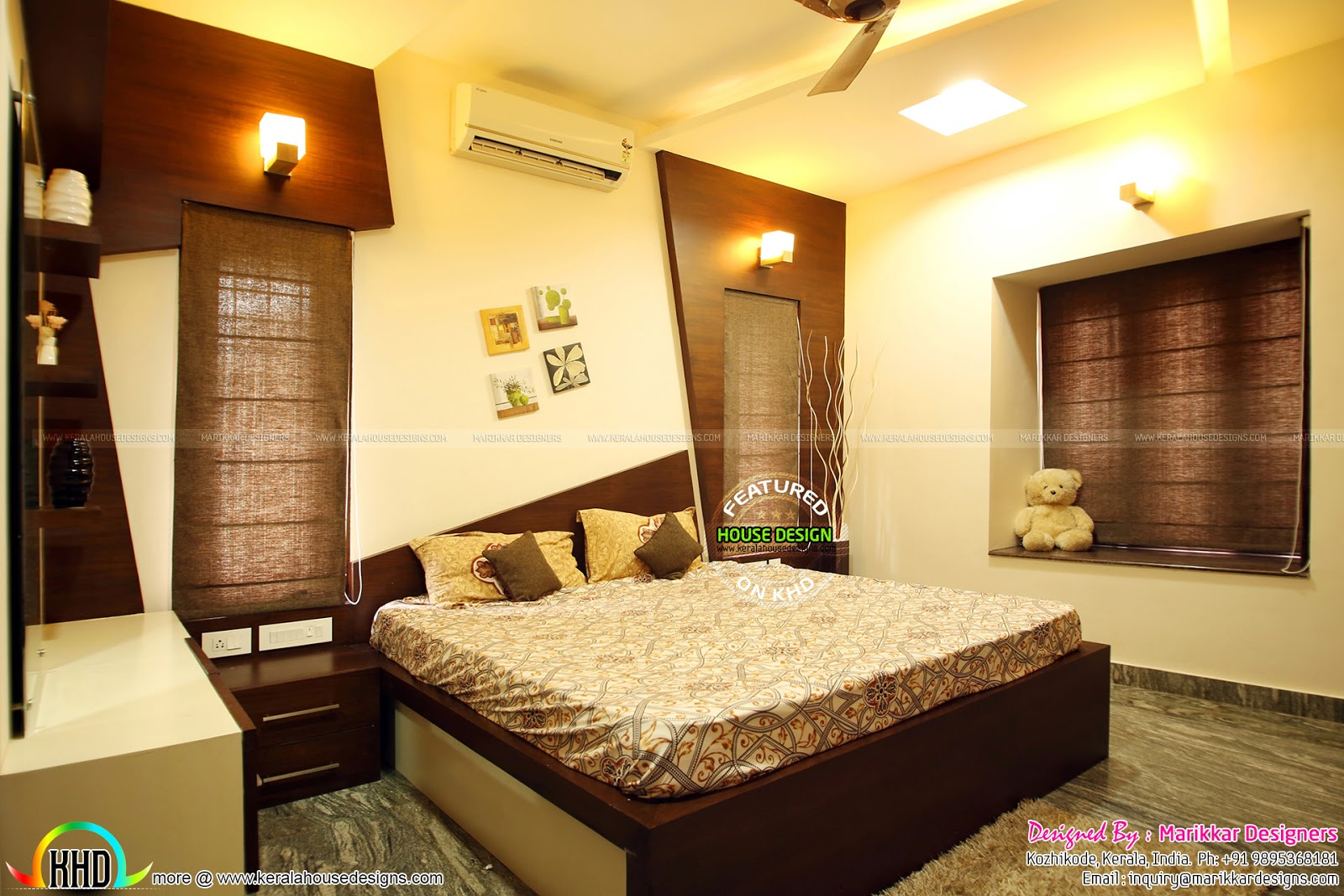 Kerala House Bedroom Interior Design