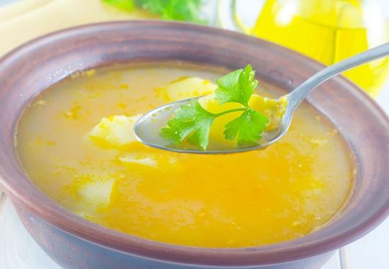1. Sopa de Frango e Milho