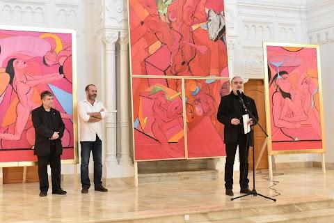 Véssey Gábor festményeiből és szobraiból nyílik kiállítás Budapesten