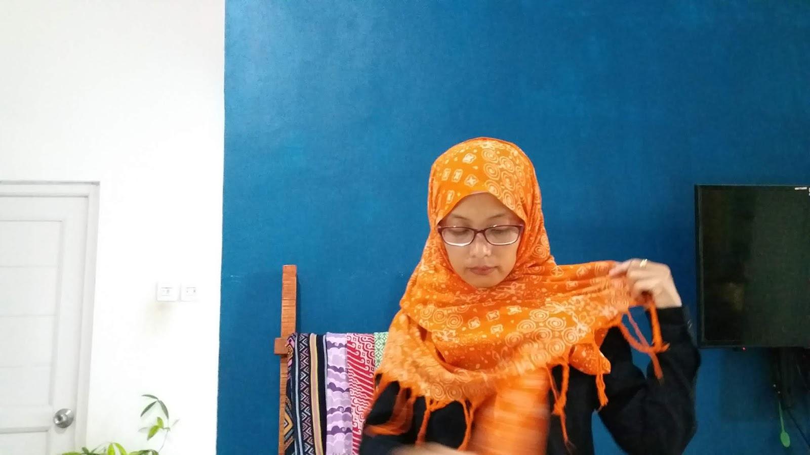 Tutorial Hijab Pashmina Etnik Rina Susanti S Blog