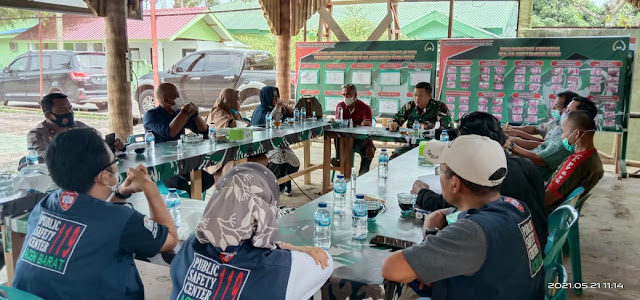 Dandim 0105/Abar Pimpin Rapat Koordinasi Bersama Tim Satgas Covid - 19 Aceh Barat