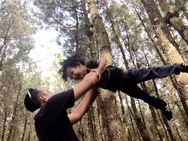 top selfie hutan pinus kragilan