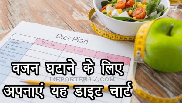 Health Tips : इस Diet Plan से एक सप्ताह में 4.5 किलोग्राम तक वजन कम कर सकते है