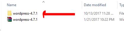 install Wordpress Offline
