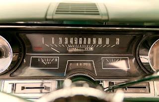 1966 Cadillac Eldorado Cabriolet Green Speedometer