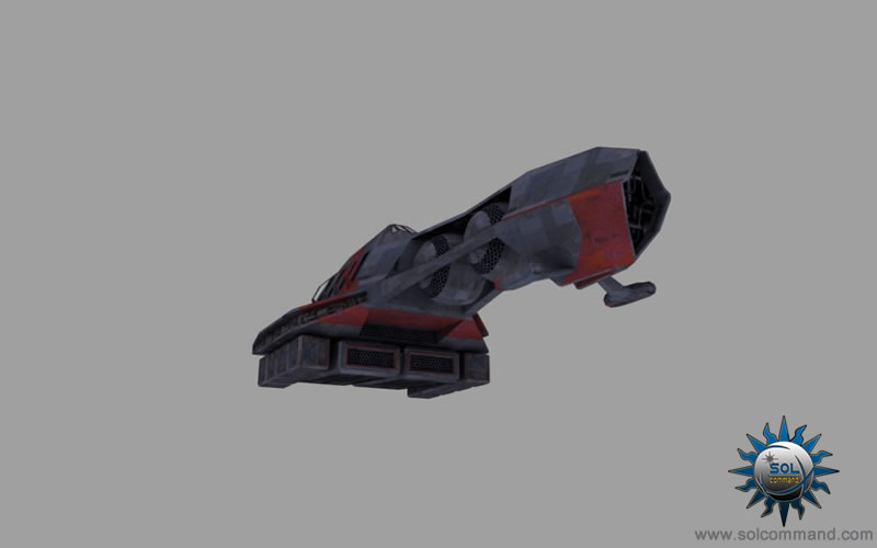 solcommand spaceship space civilian harvesting transport hauler