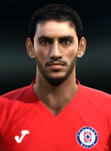 José de Jesús Corona Face For PES 2013