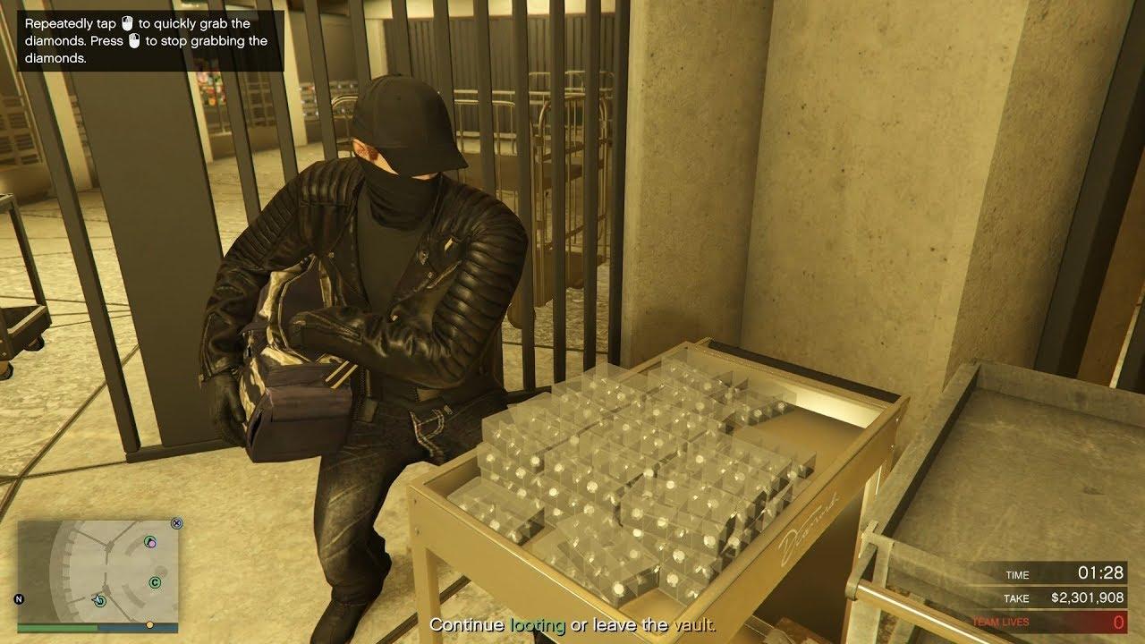 The Diamond Casino Heist - giant fraud