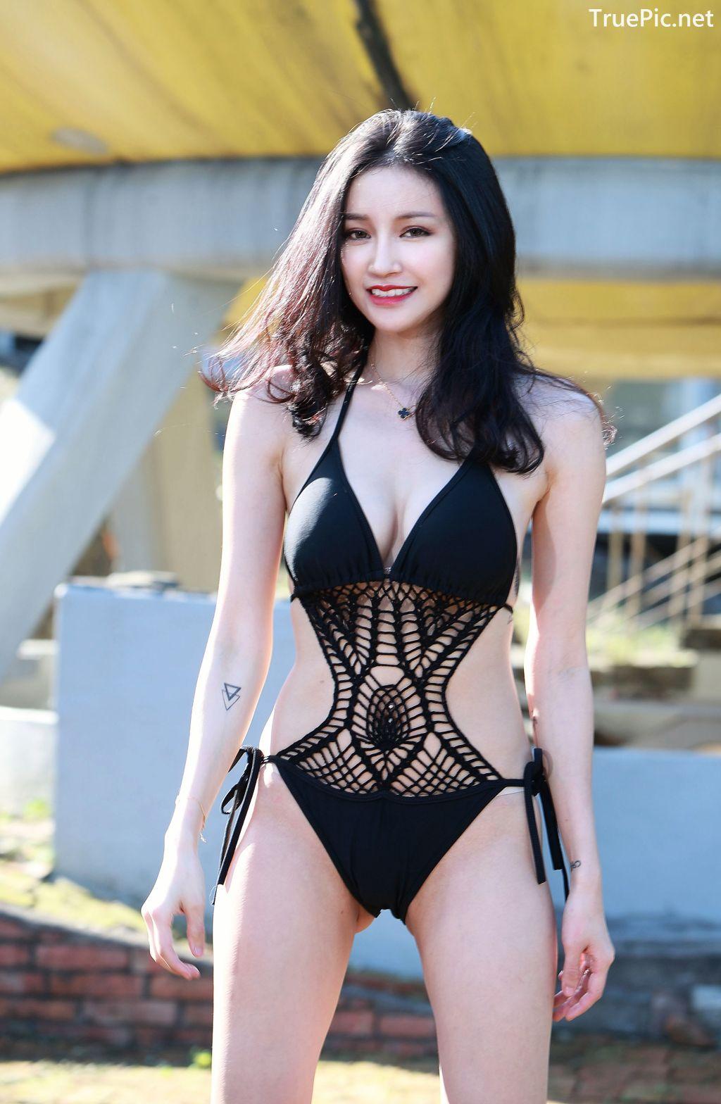 Image-Taiwanese-Model-艾薉-Long-Legs-And-Lovely-Bikini-Girl-TruePic.net- Picture-8