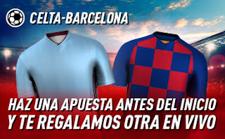 sportium promo Celta vs Barcelona 27 junio 2020