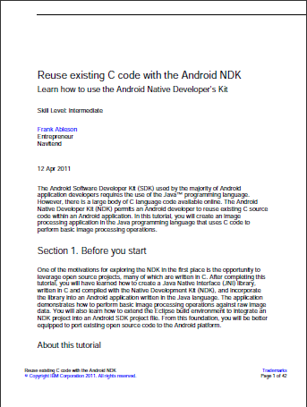 Android-er: Learn how to use the Android NDK, by creating an image