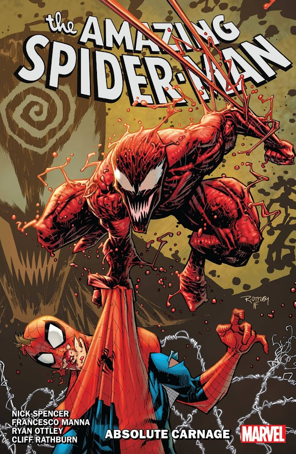 amazing spider man absolute carnage cletus kasady grendel symbiote peter parker marvel comics nick spencer ryan ottley